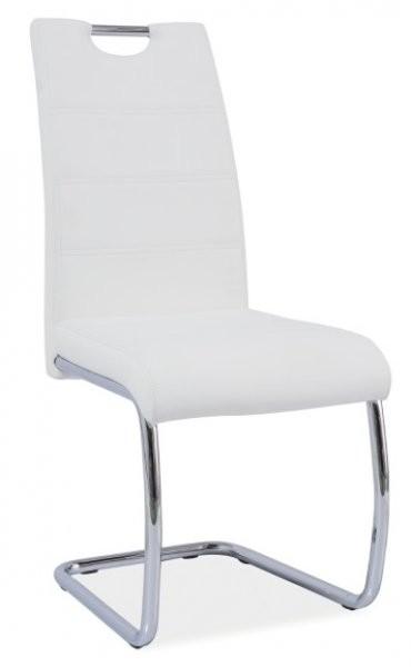 Jedilniški stol H666 - bel