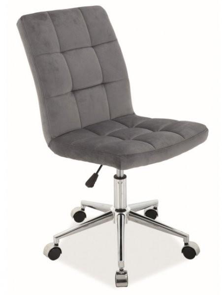 Pisarniški stol Q-020 - siv, bluvel14